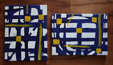 1 set, Abstract, Original Acrylic Painting, Signed, Home Deco, Wall Art