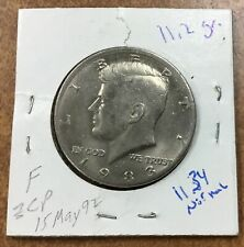 COIN AUCTION 1983 KENNEDY HALF DOLLAR COINS from a large collection Lot E1