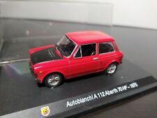 1/43 IXO Altaya Autobianchi A 112 Abarth 1975 70HP Rojo Red Rosso Rauge