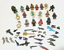LEGO and Halo LOT OF 19  Figures with weapons