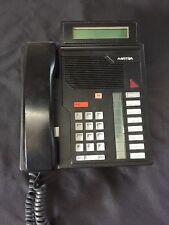 Meridian Aastra business phone M5208 NT4X41 black & Base