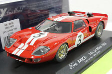FLY A762 FORD GT40 24 HOUR LE MANS 1966 NEW 1/32 SLOT CAR IN DISPLAY CASE
