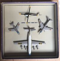 French Dinky Aircraft 60 Box Gift  Set 1957 Original Box Aeroplane Plane