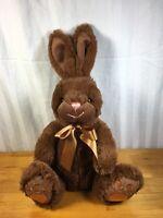 "Animal Adventure 15"" Chocolate Brown Bunny Rabbit Plush Stuffed Toy Animal 2015"