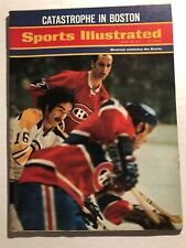 1971 Sports Illustrated STANLEY Cup BRUINS vs MONTREAL Outskates The BRUINS