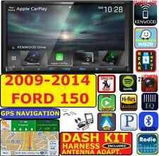 2009-14 F150 KENWOOD GPS NAVIGATION APPLE CARPLAY ANDROID AUTO CAR RADIO PACKAGE