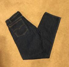 vtg LEVI's 505 fit orange tab jeans 36 x 32 tag dark blue