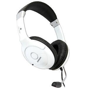 Samsung SHS100V/W Premium HiFi Stereo Headset with Mic Microphone Laptop Usb ps4