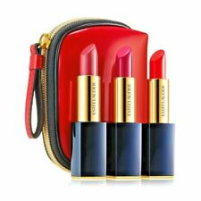 Estee Lauder 3 Pure Color Envy Sculpting Lipsticks w/Cool Bag NIB Sealed!