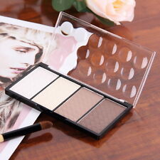Pressed Powder 4 Color Highlight And Contour Shading Powder Cosmetic Make-up  OE