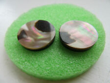 Mother of Pearl Clip Costume Earrings
