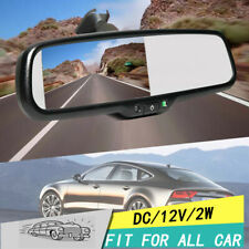 """New Car Rearview Mirror 4.3"""" TFT LCD Display Monitor Mirror Dimming"""