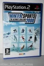 WINTER SPORTS 2008 THE ULTIMATE CHALLENGE GIOCO NUOVO PS2 ED ITALIANA GS1