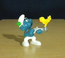 Smurfs Hunter Smurf Gun Bird Hunting Figure Vintage Toy Pvc Figurine Peyo 20106