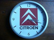 CITROEN pendule murale horloge 20cm DS TRACTION 2CV AMI SM CX BX MEHARI GS DYANE