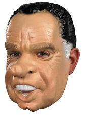 RICHARD NIXON MASK PRESIDENT POLTICAL LATEX VINYL COSTUME MASK ADULT MENS