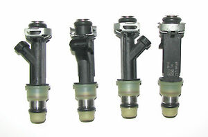 Set of 4 BRAND NEW SATURN OEM Injectors, 2001-02 SC, SL, 1.9L SOHC,  21015436