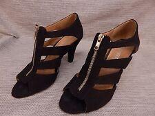 Lane Bryant Womens Black Strappy Heels Size 9 B Eur 39