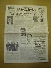 MELODY MAKER 1935 MAY 25 LEW STONE MANTOVANI WASHBOARD BERT AMBROSE