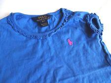 RALPH LAUREN Wunderschönes T-Shirt mit Rüschen Gr.3/3T 98