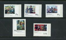 Z196 Albania 1978 art paintings Communists 5v. Mnh