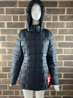 NWT The North Face Transit II Black Goose Down Insulated Jacket Women's Size XL