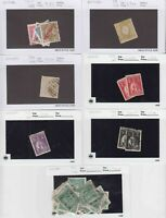PORTUGAL 7 SALES CARDS $144 SCV COLLECTION LOT READY TO SELL
