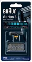 Braun 30B 4000/7000 Series 3 Foil & Cutter Replacement For 7705 7570 7680 4846