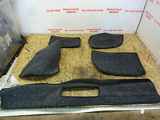 TVR Cerbera Grey Boot Carpet Pieces      Cerbera Removable Boot Carpet Sections