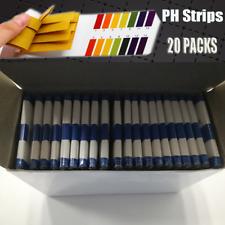 PH Acid 1-14 Test Paper Litmus Testing Strips Lab Experiment Tester 20 Packs