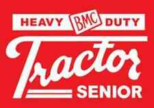 DECAL SET for BMC SENIOR Pedal Tractor, Adhesive Backed, White XP100