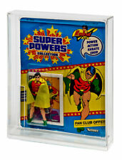 GW Acrylic MOC Carded Figure Display Case Kenner Super Powers (Standard Bubble)