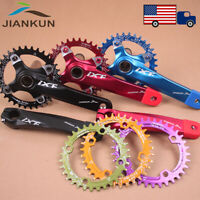 30-52t 104BCD 170mm Crankset Chainring MTB Road Bike Round Oval Chainwheel CNC