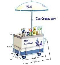 Rare! Miniature UML Mimo Local Street Vendor - Miniature Ice Cream Cart