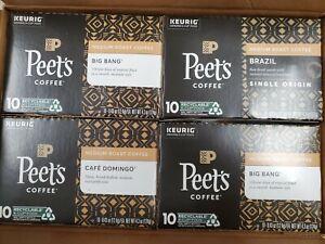 Peet'S Coffee Best Sellers Variety Pack K-Cup Coffee Pods For Keurig Brewers, 40