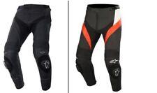 Pantaloni di Pelle Alpinestars Missile neroi Taglia 50