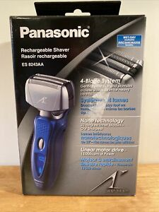 Panasonic Arc 4 Rechargeable Shaver: Wet/Dry, 4 Blade System  (ES8243AA) Used