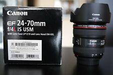 CANON LENS 24-70mm F/4 IS MACRO L ULTRASONIC OBIETTIVO x 5D 6D 7D 90D