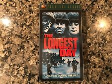 The Longest Day New Sealed Vhs! 1962 War Action! See) Midway & Breakthrough