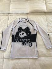 Inverted Gear rashguard (white/back) Small (never worn)