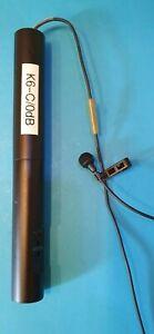 Sennheiser Lavalier Mikrofon MKE 2 -60 Gold mit Speiseadapter K6
