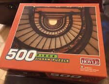 Sealed According To Hoyle 500 Piece Puzzle Winding Staircase