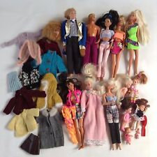 1990's Era Barbie & Friends Lot, Ken, Barbie, Kelly, Baby, Clothing, Accessories