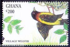 Ghana MNH Birds, Village Weaver -( C61)
