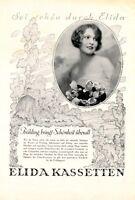 Elida Creme XL Reklame 1927 Anna-Lisa Ryding * Tranås † Saltsjöbadens Schweden