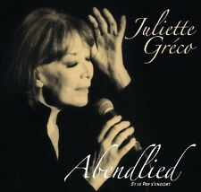 CD Album Juliette Greco Abendlied Et Le Pay S`endort (Die Gammlerin)
