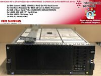 IBM X3850 X5 4x E7-8870 32GB ServeRAID M5015 2x 146GB 15K 2x PSU 4U Rack Server