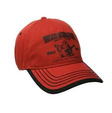 New True Religion Puff Buddha Adjustable Baseball Trucker Hat Cap TR1988 / Red