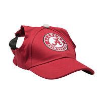 Alabama Crimson Tide NCAA Licensed LEP Dog Pet Baseball Cap Hat Sizes XS-XL
