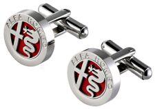 Alfa Romeo Logo Cuff Links Genuine Alfa Merchandise